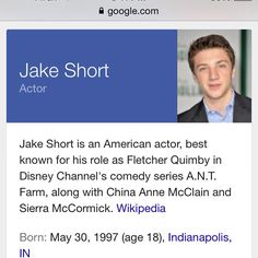 So fletcher from ant farm is my birthday twin! How cool❤️