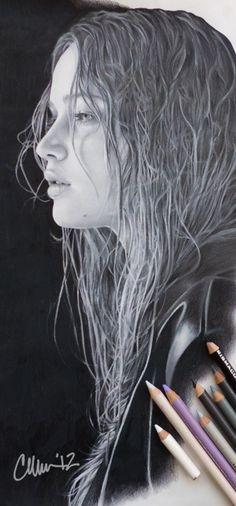 Jennifer Lawrence Drawing by ~Live4ArtInLA on deviantART