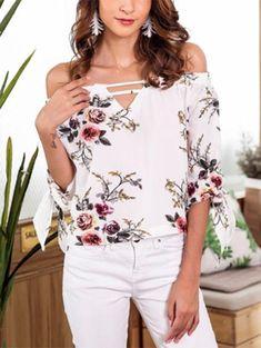 Smart Feitong Women Blouses Cover Blouse Leaf Print Suit Bikini Swimwear Beach Swimsuit Smock Shirt Casual Tops Blusas Femininas Women's Clothing
