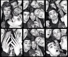 Photobooth pics!!! | One Direction