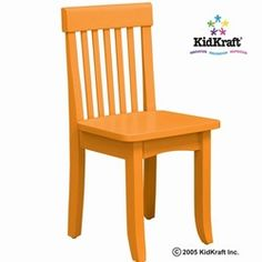 Kidkraft Avalon Chair   Tangerine 16614Kidkraft 2 Slat Rocking Chair   Red 18102   Kidkraft Furniture  . Kidkraft Rocking Chair Cherry. Home Design Ideas