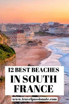 Planning a trip to Southern France and looking for the best beaches? Check here the the most beautiful beaches in South France you should visit. Southern France, Southern Europe, Europe Travel Tips, Places To Travel, Travel Destinations, Greece Destinations, Budget Travel, Travel Guides, European Destination