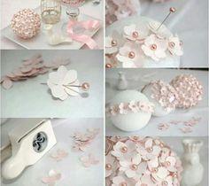 Creative ideas diy felt flower christmas ball ornament pinterest centro floral mightylinksfo