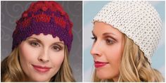 BOBBLE TWEED HAT AND CROCHET BEADED CAP. [FREE PATTERNS]  With simply some straightforward clicks, you'll get the crochet provides you wish to make the patterns featured of Knit and Crochet Now! realize yarn, crochet hooks, glass beads, sew markers and additional