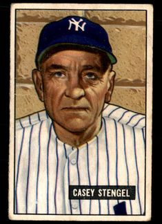 Damn Yankees, New York Yankees Baseball, Equipo Milwaukee Brewers, Baseball Players, Baseball Cards, New York Teams, Casey Stengel, Willie Mays, Sports Figures