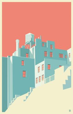 Illustrations : New York vu par Remko Heemskerk