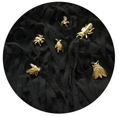 How about friendly insects? Sweet, little brooch from INSECTS and BERY collection by Anna Orska.