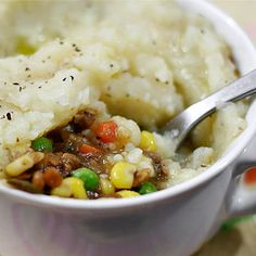 Meatless Monday: Vegan Lentil Shepherd's Pie