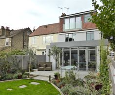 loft and rear recently completed in Barnes