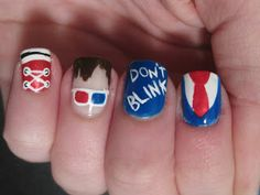 Bizarre Obsessions: Weekly Nails: Doctor Who Series: The 10th Doctor