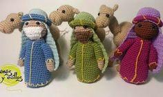 ari crochet & craft: Crochet advent calendar: Reyes magos