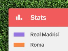 Old project for an app that shows football matches stats and info