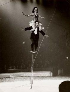 The Two Arvings, Bertram Mills' Circus, Olympia, 1951-52 season, Museum no. OL.VII.54/55.30-30A