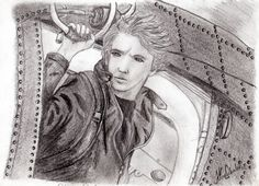 A pic of Alex Rider I drew from a still of the movie 'Stormbreaker'. Alex Rider, Realistic Fiction, Major Events, Crazy Cakes, Historical Fiction, I Fall In Love, Thriller, Fangirl, Sci Fi