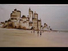 Como pintar en acrilico - Cuadros - Drawing Lessons, Art Lessons, Art Tutorials, Watercolor, Drawings, Painting, Monitor, Google, Youtube