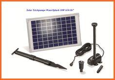 Solarpumpensystem Solarpumpe Solar Teichpumpe Water Splash 10/610 101013