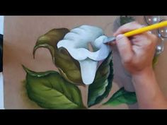Canvas Painting Tutorials, Acrylic Painting Techniques, Painting Videos, Diy Painting, Fabric Colour Painting, Acrylic Painting Flowers, Watercolor Paintings, Hand Painted Dress, Hand Embroidery Designs