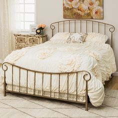 Bradley Queen Size Metal Bed