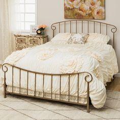 Bradley Queen Size Metal Bed