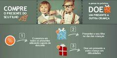 Economize nesse Dia das Crianças (e depois doe para uma criança carente!)
