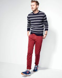 JCREW - Holidays (My son has a mini out fit just the same! sweater- same from children's place, red skinnies from old navy