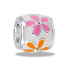 DaVinci Beads Orange/Pink Daisy Chain Jewelry