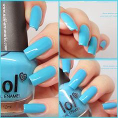 Lol Blue Without You www.nail-art-marie.com