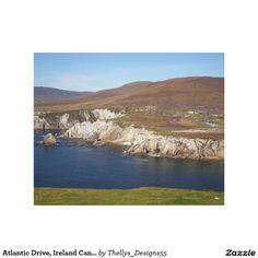 Atlantic Drive, Ireland Canvas Print