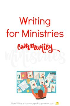 Writing for Ministries community: a group of writers raising the bar for ministry writing with tools and encouragement with Word Wise at Nonprofit Copywriter Writing Websites, Writing Games, Writing Resources, Blog Writing, In Writing, Writing Tips, Writing Courses, Biblical Inspiration, Fiction Writing