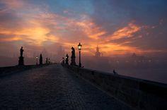 Prague Dawn by Markus Grunau on 500px