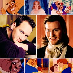 cheshirechatte:     Disney Dreamcast | Beauty and the Beast (1991)Patrick Wilson as Beast   For those of you that aren't that familiar with Patrick, watch some behind-the-scenes videos from Phantom of the Opera. This boy can sing. Also, that picture of him with the long hair? A spot-on match for Beast post-transformation. At least in my opinion. Fun Fact: Contrary to popular belief, Beast's name is not Prince Adam! His animator Glen Keane has denied this multiple times. Adam is nothing more…