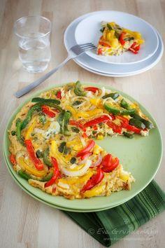 Paprika Tortilla | food-vegetarisch.de