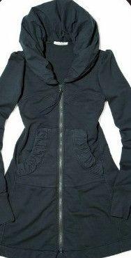 Favorite hoodie!! Prairie Underground Long Cloak Hoodie ~ Drab by Prairie Underground