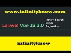 Create Laravel Pagination using Vuejs CRUD 15 August Images, Tutorials, Create, Youtube, Youtubers, Youtube Movies, Wizards