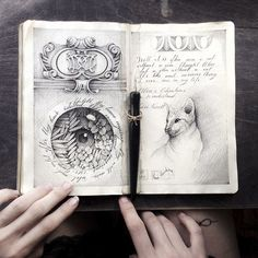 Sketchbook-drawings-elena-limkina-russia | Bored Panda