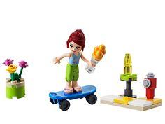 Lego Friends Mia Skateboarder