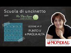 (6) Lezione #17 - Punto V e Maglia Alta - YouTube