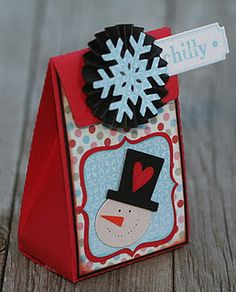Chilly Snowman Gift Bag