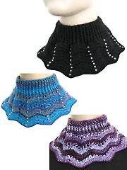 Bejeweled Ripple Cowl Crochet Pattern