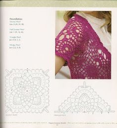 GIL CROCHET TRICOT: casaco crochet