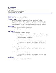 apple pages resume template