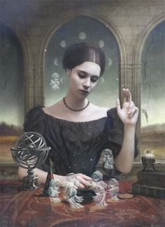 "Previous Pinner says, ""I'm currently reading 'Jonathan Strange & Mr. Norrell' by Susanna Clarke, so art by Tom Bagshaw really hits me right in that English magic spot."""