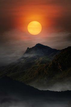 Mountain- by :Anuchit นายบันทึก