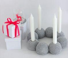 Få inspiration til, hvordan du nemt og hurtigt kan lave en kreativ adventskrans, der  kan hygge i hjemmet helt frem til juleaften.
