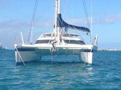 Catamaran Sailboats For Sale, Sailing Catamaran, Used Boat For Sale, Used Boats, Adventure Awaits, Ship, Yachts, Amazing, Water