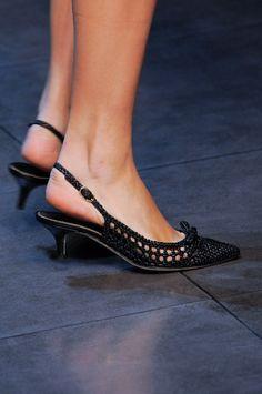 shoe trend: kitten heels