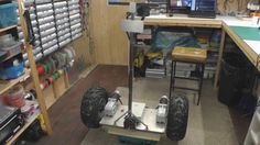 Homemade Segway construction info Hobby Electronics, Electronics Projects, Diy Robot, Diy Pipe, Arduino Projects, Open Source, Pallet Furniture, Robots, Transportation