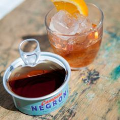 Notch LDN food and drink menu! Tuna can and jam jar cocktails. Good Food, Good Drink, Good Vibe - for nice people.