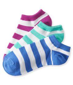 3-Pack Stripe Ped Socks