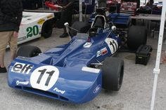 1971 Tyrrell 002 - Driven by Francois Cevert and winner of the '71 U.S. Grand Prix.